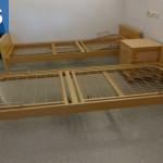 Dřevěné pečovatelské lůžko STIEGELMAYER SERENADE